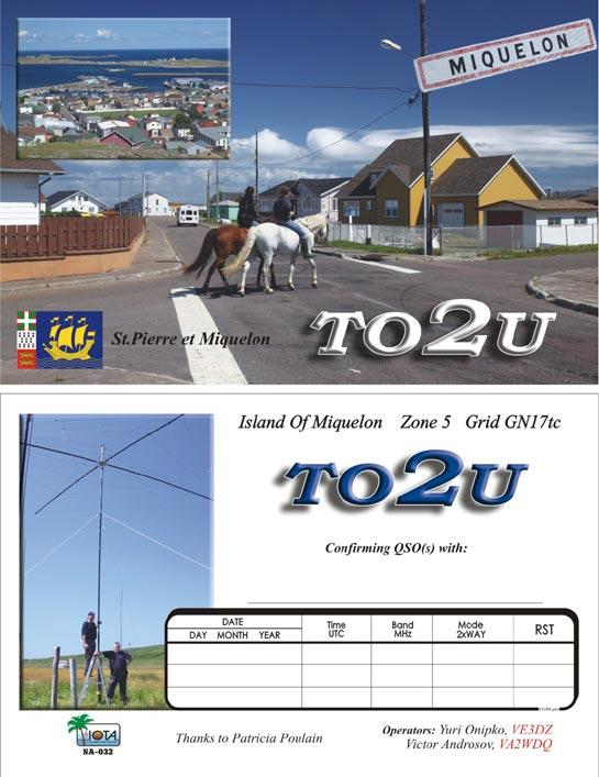QSL TO2U